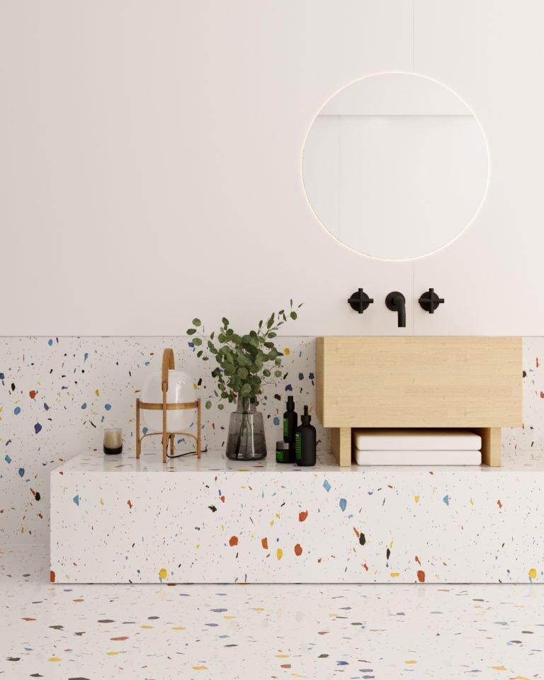 sustainable wall panels Bathroom